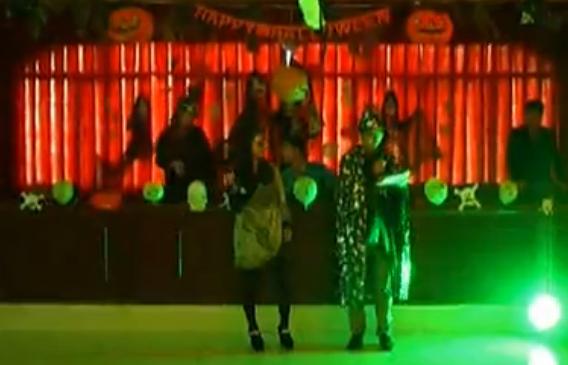 长郡蓝田首届万圣节狂欢视频
